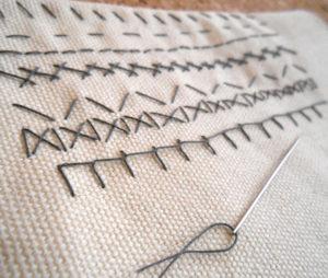 裁縫の写真