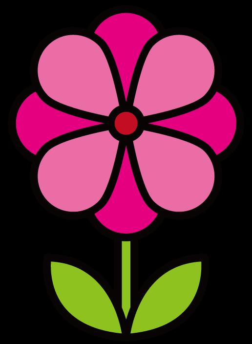 花・アネモネのイラスト(色アリ) 無料素材 CC0 「素材ある」