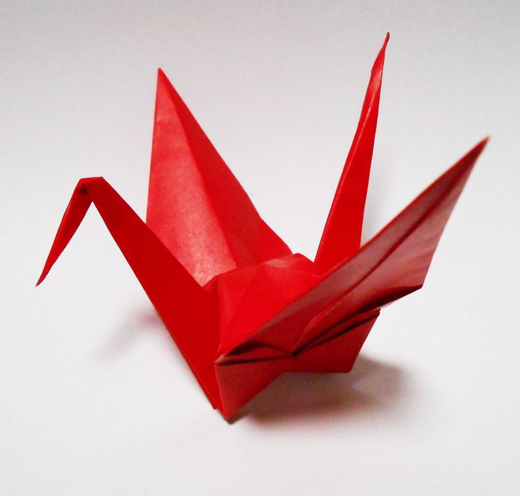 折り紙・鶴の写真 無料素材 CC0 「素材ある」