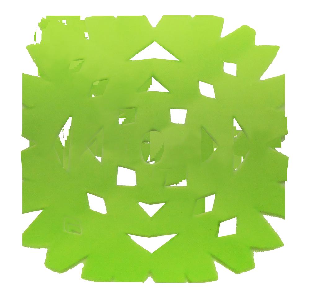 切り絵 幾何学模様 無料素材 CC0 「素材ある」